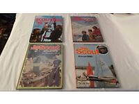 JOB LOT 4 X SCOUTING ANNUALS