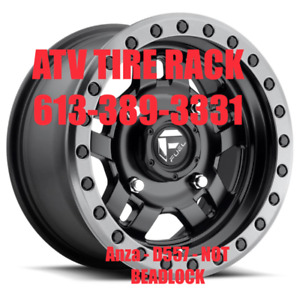 FUEL OFF ROAD wheels Anza - D557 - NOT BEADLOCK  ATV TIRE RACK