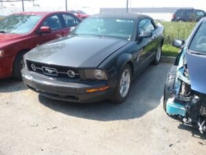 2008 Ford Mustang Convertible for a bodyman