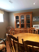 Dining room set  $150.00