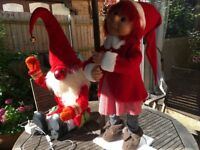 Animated Christmas Grotto decorations