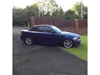 2009 BMW 120D M-SPORT CONVERTIBLE. 65000 Miles. Mot'd to January 2018. Immaculate inside and out