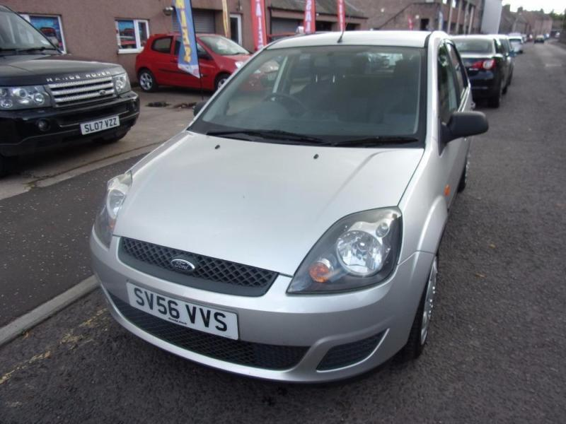 FORD FIESTA 1.4 style climate 2006 Petrol Manual in Silver