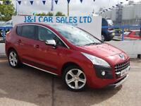 PEUGEOT 3008 1.6 ALLURE E-HDI FAP 5d AUTO 112 BHP A LOW PRICE D (red) 2012