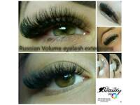 Amazing Mega Russian Volume Classic lashes extensions