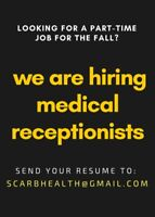 Seeking part-time medical receptionists