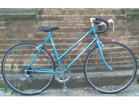 Vintage racing ladies bike SUNSOLO hand built frame size 20in - 5 speed NEW TYRES , brakes ,serviced