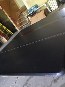 Tonneau cover with cargo management system