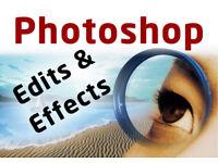 Photo Edit, Photo Retouching, Photoshop Effects