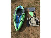Intex Challenger K1 single person kayak