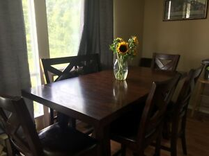 BIG BEAUTIFUL DINING TABLE SET FOR SALE