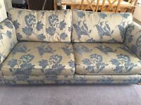 DFS 4 seater fabric sofa
