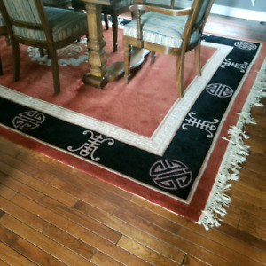 """BEAUTIFUL  WOOL AREA RUG  """"IMPERIAL PALACE """""""