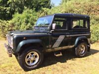 Land Rover Defender 90 300TDI County Station Wagon 1996 - new Richards chassis/rebuild - see desc