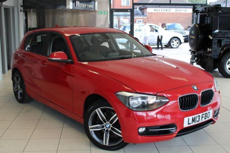 2013 13 BMW 1 SERIES 1.6 118I SPORT 5D 168 BHP