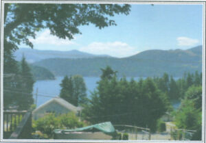 Beautiful lakeview home od .7 acre at Lake Cowichan