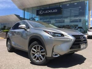 2015 Lexus NX 200t Premium Pkg AWD Backup cam Leather Sunroof