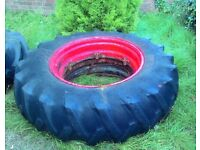 Massive Vintage Firestone Tractor TYRE ; Upcycling Project?