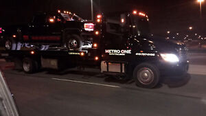 Metro One Towing & Flatbed Tow Service  24/7 !!