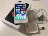 Silver iPhone SE 16GB unlocked