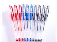 Pack of 10 regular gel pens