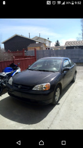 2003 Honda Civic Dx Coupe (2 door)