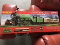 Hornby - The Flying Scotsman 00 gauge train set