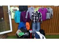 Boys clothing, joblot age 11-13