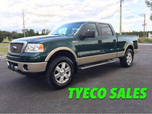 2007 Ford F-150 LARIAT CERTIFIED LOADED