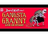4 Tickets for Gangsta Granny - 6th August