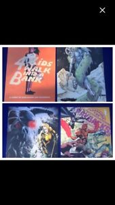 """Space city comic con 17"""" x 11"""" posters ( 4 total )"""