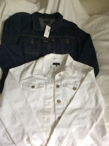 Two new jean jackets. Paid over $120 -asking $30 each