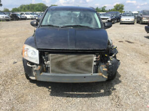 BLACK 2009 DODGE CALIBER FOR PARTS