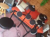 Drum kit & stool