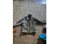 Small boys camouflage jacket