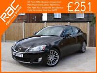 2011 Lexus IS IS250 2.5 F Sport 6 Speed Auto Bluetooth Full Leather/Suede Heated