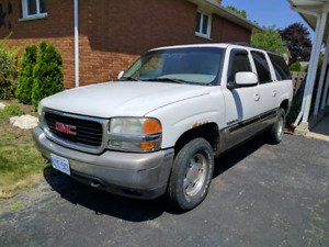 2001 GMC Yukon XL trade/swap $2000