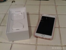 iphone plus o2 rose gold used twice