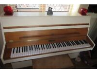 PIANO UPCYCLED KEMBLE UPRIGHT AND STOOL