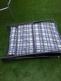 AS NEW FOLD UP GUEST BED