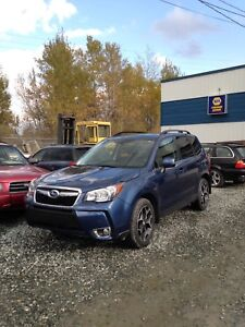 Forester XT limited 2014