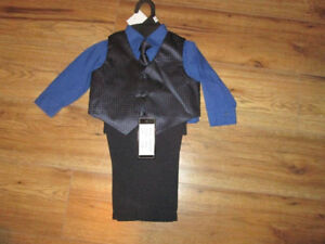 Boys 4 piece dressy outfit nwt 6-9 months.
