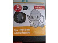 Car sun shadow
