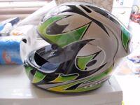 OGK MOTORCYCLE HELMET FF3 (SIZE M)