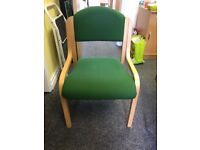 8 office chairs (£5 each)
