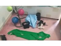 Bundle of exercise equipment