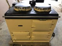 AGA - Oil 2 Oven - Hot Water Boiler