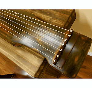 Guqin -  chinese musical instrument zither