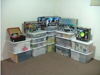 Retro gamers on the hunt for nintendo, playstation, sega 70 80 90s toys vinyl whole loft clearences
