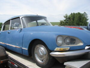 1972 Citroen DS -- Restoration Project
